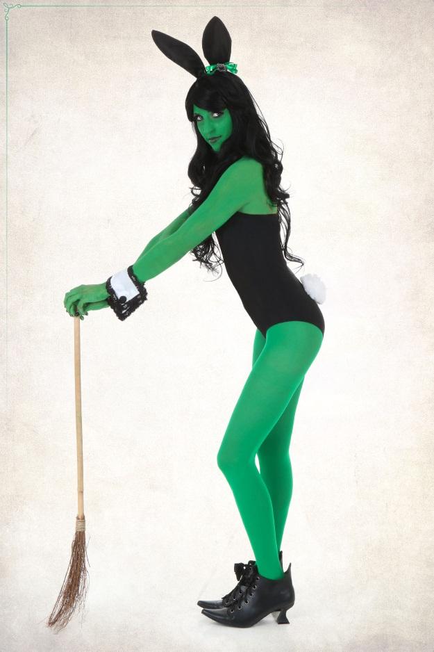 Wicked Witch Playboy Bunny