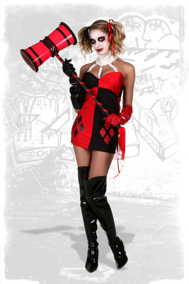 harley quinn cosplay guide halloween costumes blog. Black Bedroom Furniture Sets. Home Design Ideas