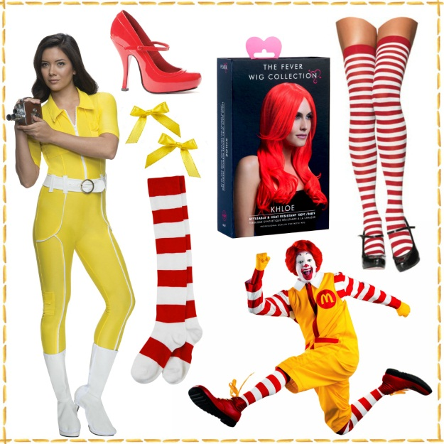 How to make a sexy Ronald McDonald costume