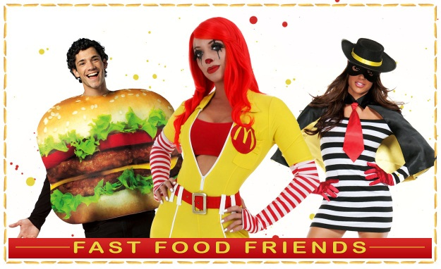 Fast Food Themed Group Costume Idea