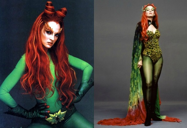 uma thurman poison ivy cosplay