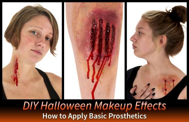 DIY Makeup Prosthetics