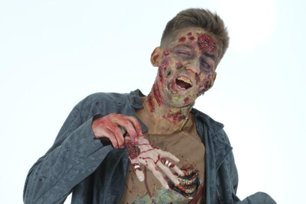 Zombie Makeup DIY