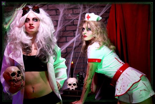 Sexy Scary Halloween Costumes Science Laboratory Halloween