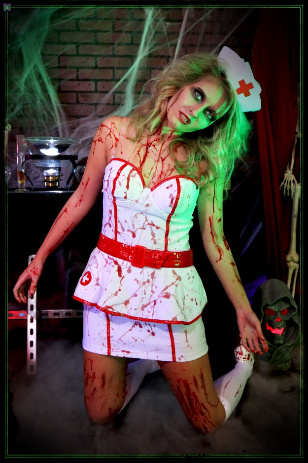 Scary Sexy Nurse Halloween Costume