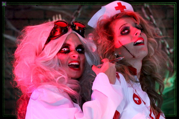 Scary Sexy Doctor and Nurse Halloween Costumes