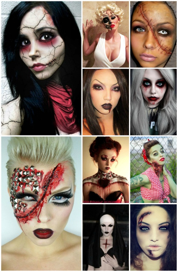 Scary Sexy Makeup Ideas from Pinterest