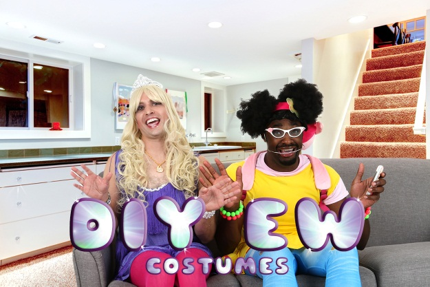 DIY Ew Music Video Costumes