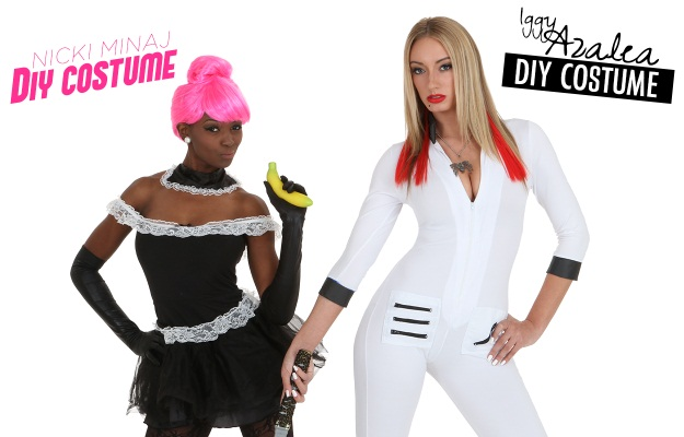 The La S Of Rap 4 Diy Nicki Minaj And Iggy Azalea Costume Ideas Halloween Costumes Blog