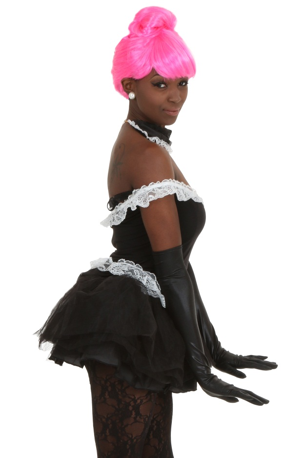 Nicki Minaj French Maid Anaconda Costume  sc 1 st  Halloween Costumes & The Ladies of Rap: 4 DIY Nicki Minaj and Iggy Azalea Costume Ideas ...
