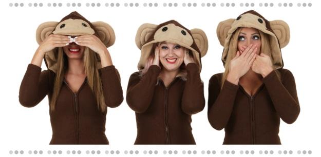 Emoji Monkeys Costume