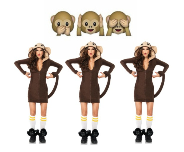 Monkey Emoji DIY