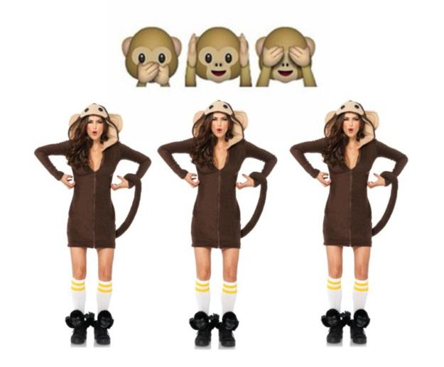 Monkey Emoji DIY