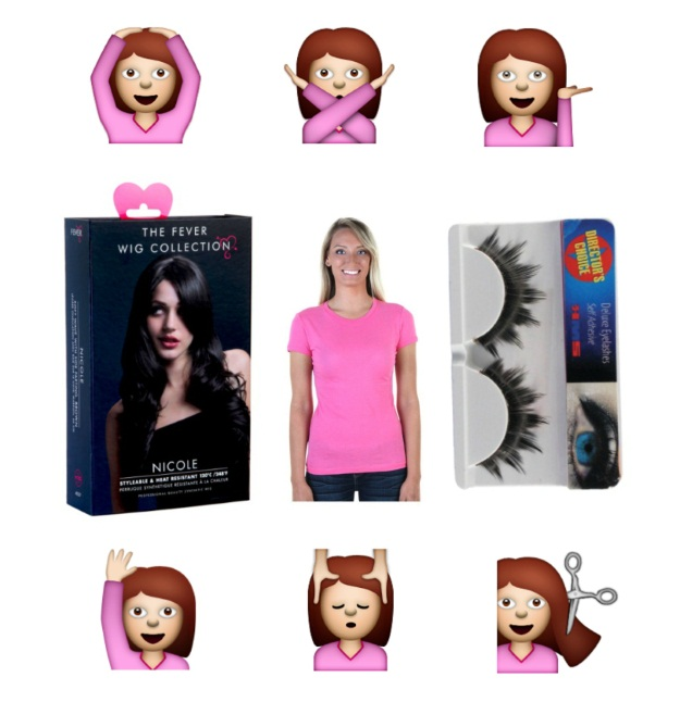 Pink Shirt Emoji Costume DIY
