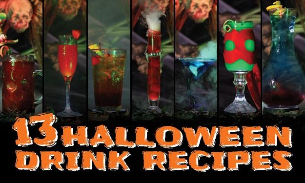 13 Halloween Drink Recipes