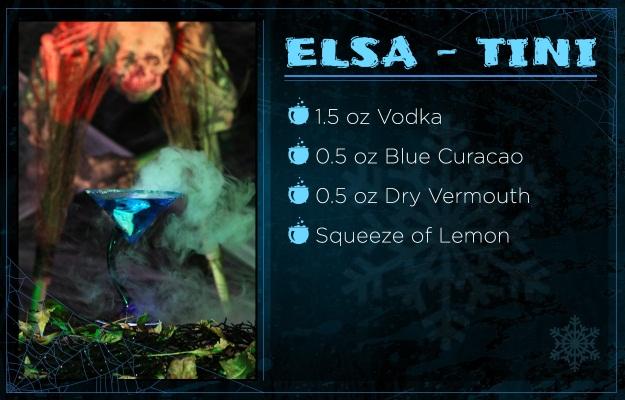 Frozen Drink Recipe ElsaTini