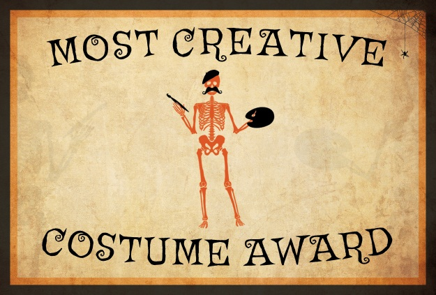 10 free costume award certificates printables halloween most creative costume award yelopaper Images