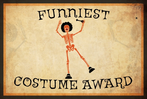 10 free costume award certificates printables halloween funniest costume award yadclub Image collections