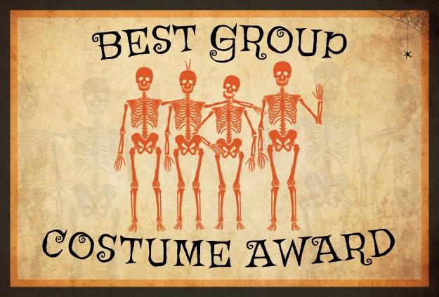 Best Group Costume Award