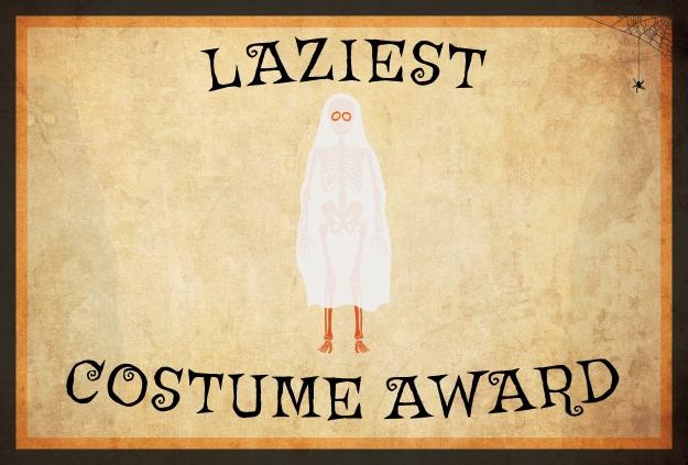 Laziest Costume Award