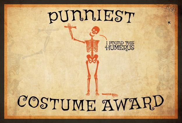 Punniest Costume Award