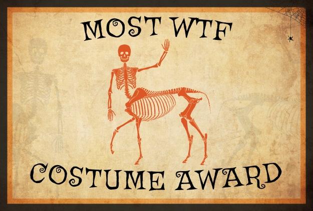 WTF Costume Award