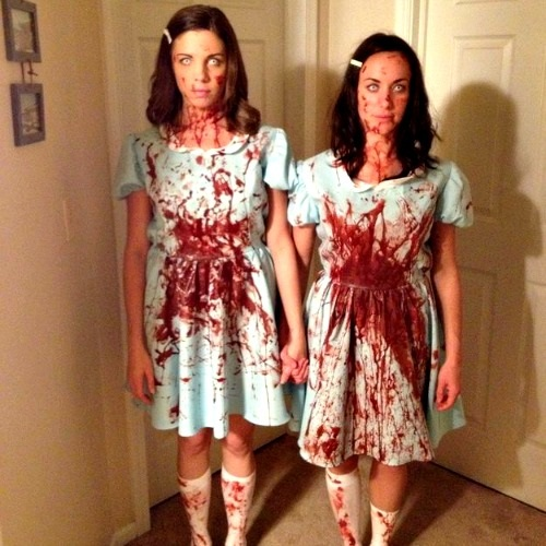 Scary twins from the shining costume
