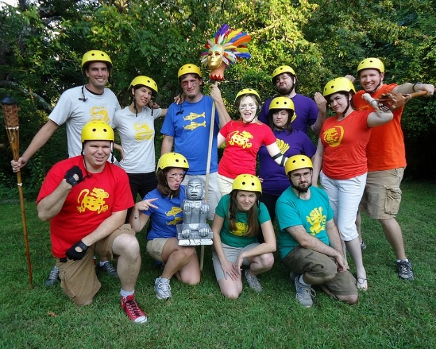 Group Legends of the Hidden Temple Costume