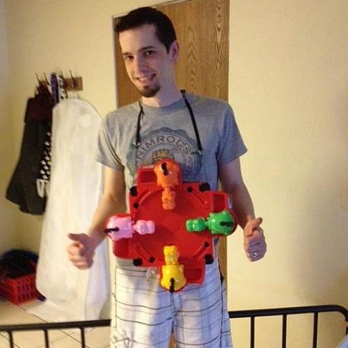 Lazy Hunger Games Pun Costume