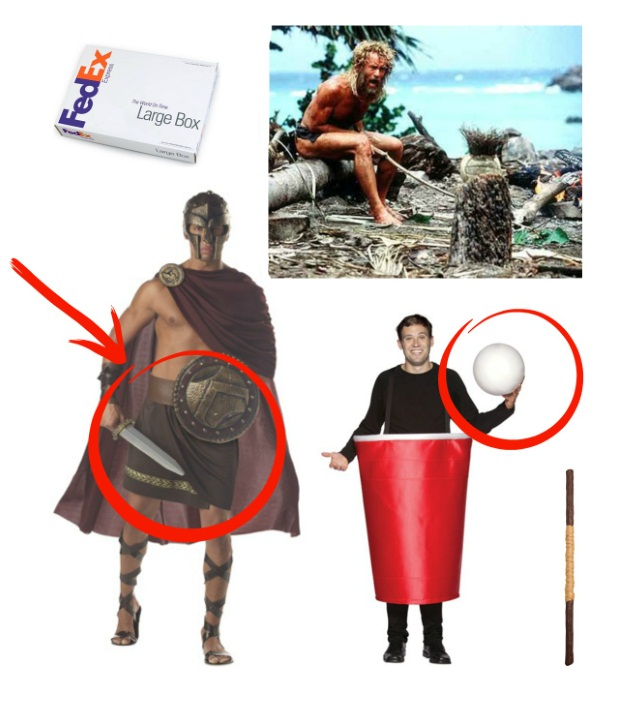 Cast Away Halloween Costume