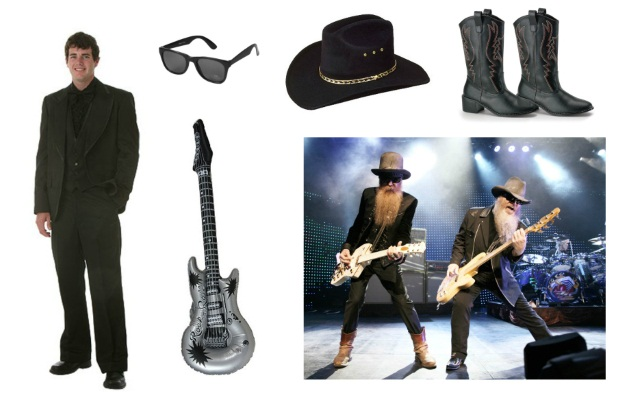 ZZ Top Halloween Costume