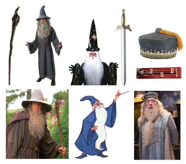 Wizard Halloween Costumes