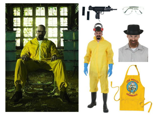 Costume ideas for dudes with beards the ultimate resource diy heisenberg costume solutioingenieria Images