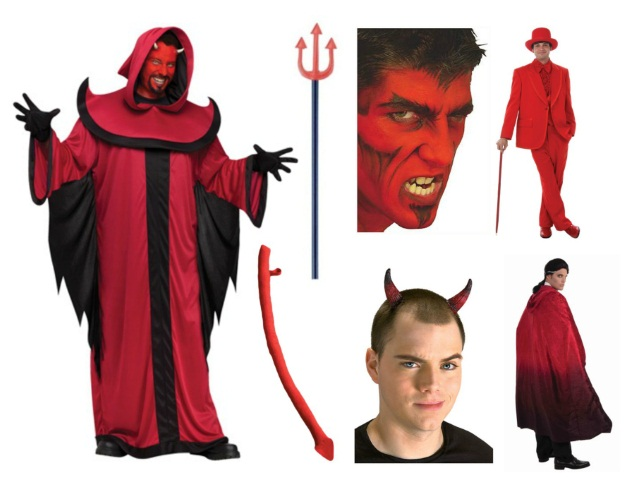 Costume ideas for dudes with beards the ultimate resource devil costume diy solutioingenieria Image collections
