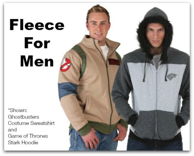 Gift Ideas for Men: Fleece Hoodies and Sweatshirts