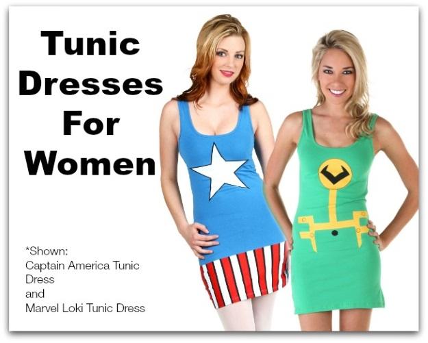 Gift Ideas for Women: Tunic Tank Dresses