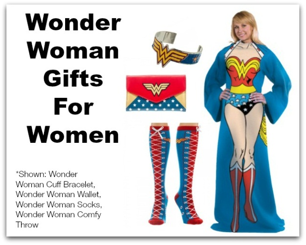 Gift Ideas For Women: Wonder Woman
