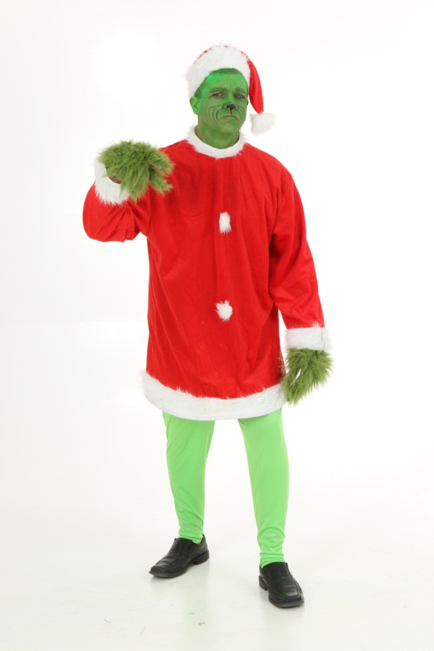 The Grinch Makeup Tutorial: A Christmas DIY