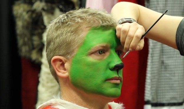 Grinch Makeup Tutorial