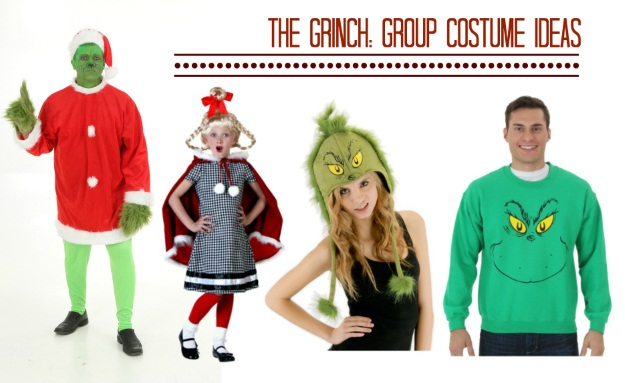 The grinch makeup tutorial a christmas diy halloween costumes blog the grinch christmas couples costumes solutioingenieria Image collections