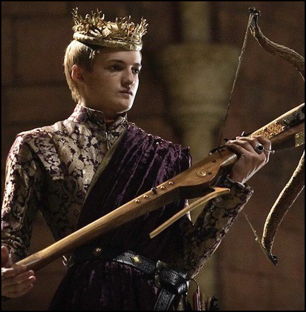 Joffrey in Game of Thrones