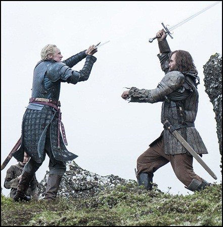 The Hound vs Brienne of Tarth