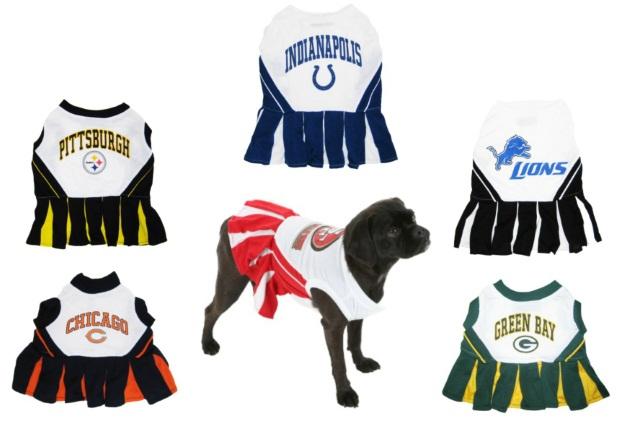 Dog Costumes Cheerleaders