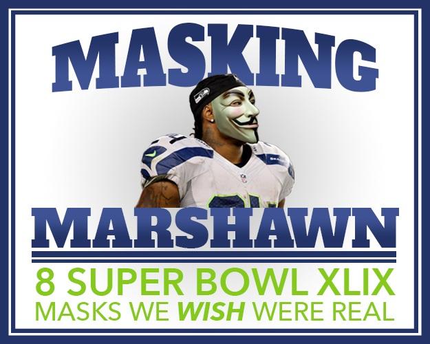 Masking Marshawn Header