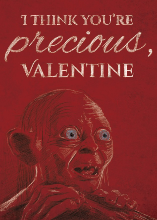 Gollum Valentine