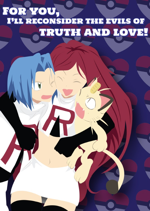 Team Rocket Valentines Day Card