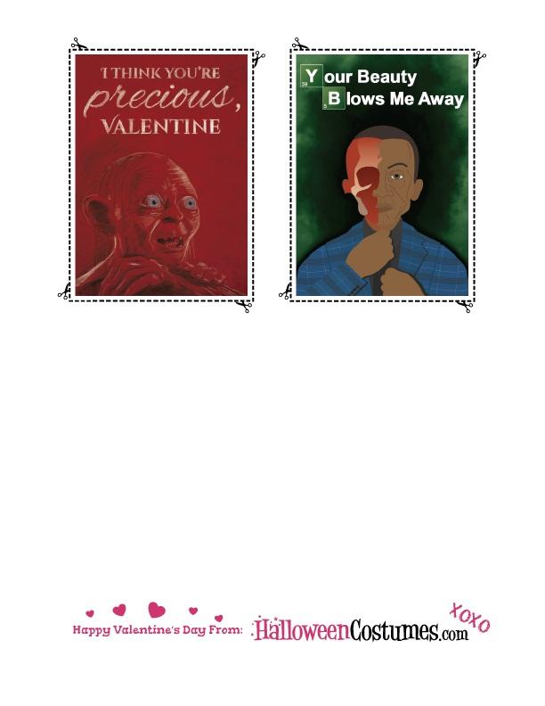 Printable Valentines Sheet 4