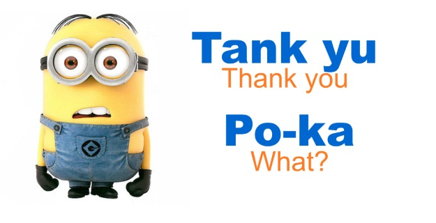 Minion Language Thank You and What