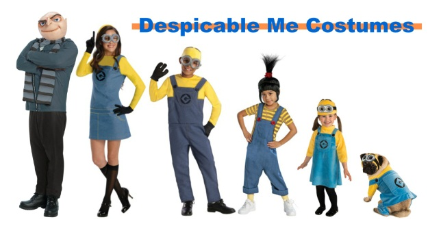 Despicable Me and Minion Costumes