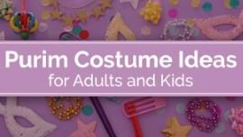 Purim Costume Ideas